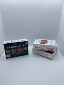 African Black Soap with Vitamin E