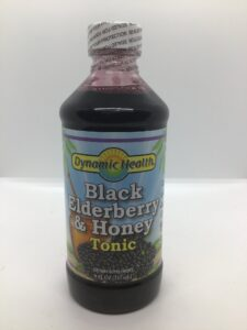 Black Elderberry & Honey Tonic